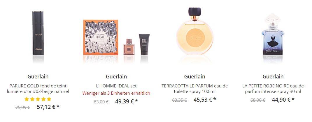 Мужская и женская парфюмерия скидки до 60% из магазина ParfumsClub (Германия)