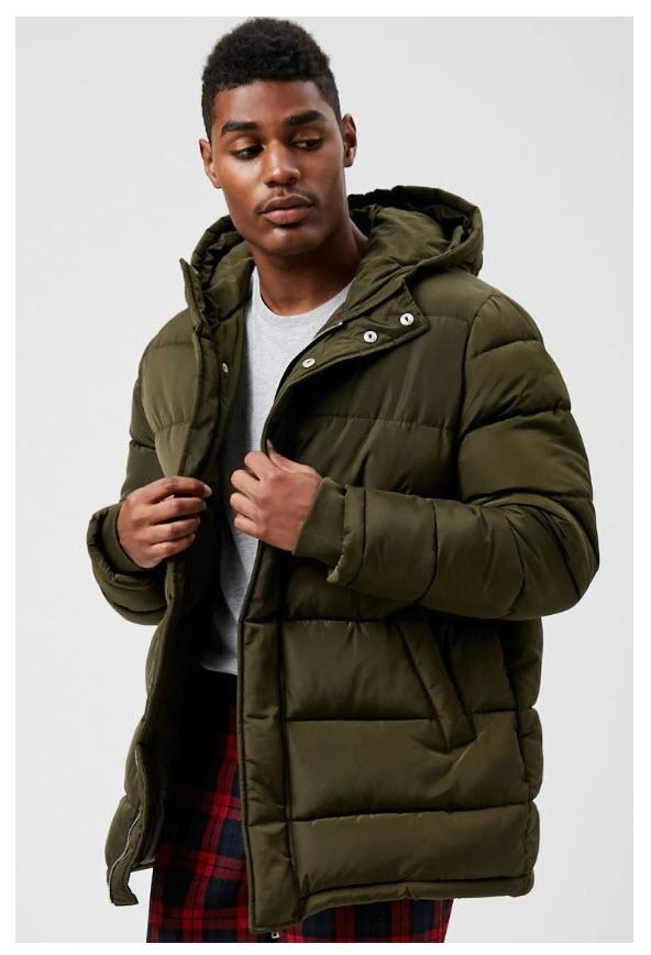 Теплая одежда на зиму Скидка 50% из магазина Forever21 (Германия)