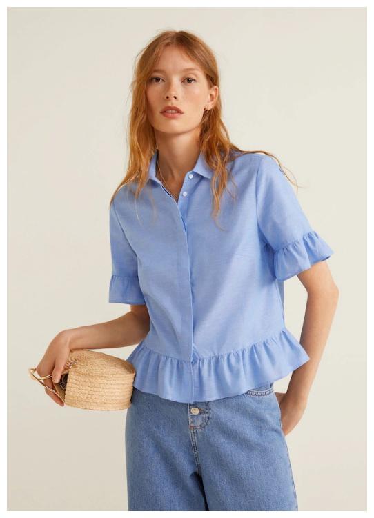 Женские и мужские рубашки навторуюединицу Доп. скидка 50% из магазина MANGO Outlet (Германия)