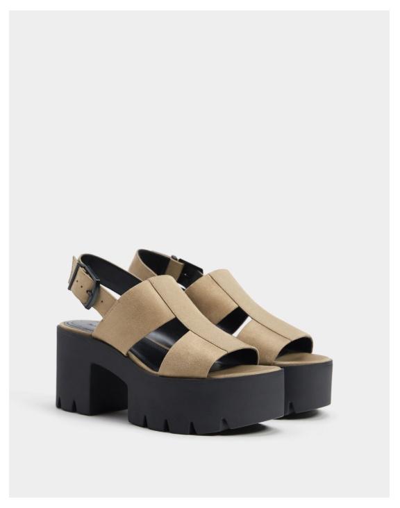 Обувь на платформе Скидки до 75% из магазина Bershka (Германия)