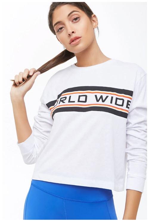 Спортивная одежда Скидки до 60% из магазина Forever21 (Германия)