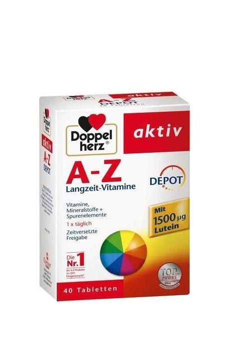 Витамины Doppelherz Cкидки до 30% из магазина Meine-onlineapo (Германия)
