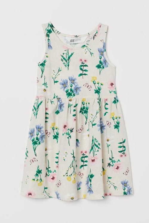 Детские платья Cкидки до 30% из магазина H&M (Германия)