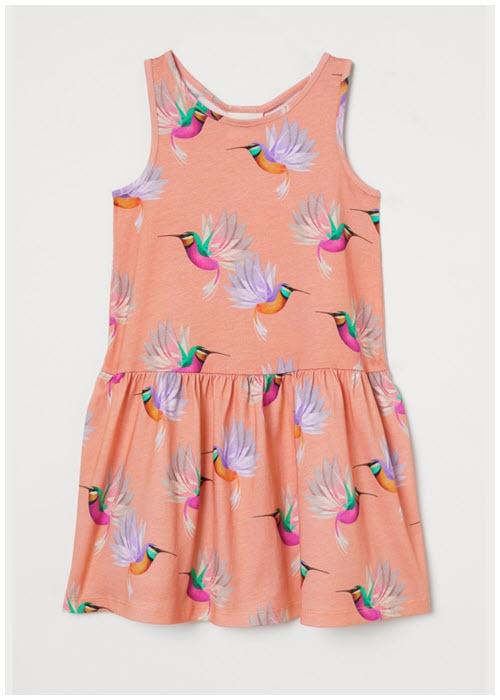 Детские платья Скидки до  50% из магазина H&M (Германия)