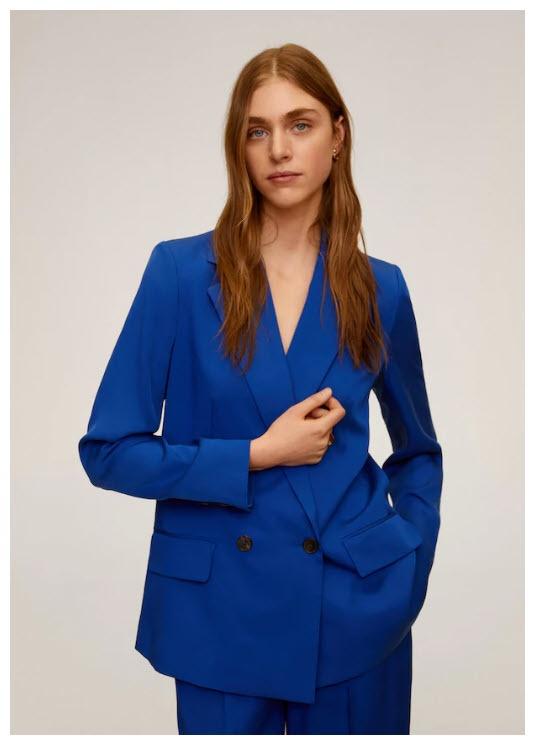 Стильные пиджаки Скидки до 73% из магазина MANGO Outlet (Германия)