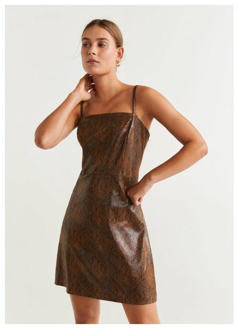 Женские платья Скидки до  75% из магазина MANGO Outlet (Германия)