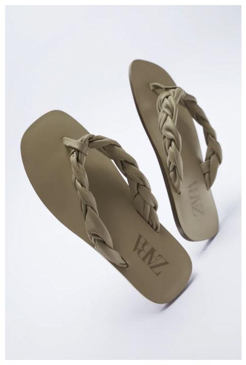 Женская летняя обувь Скидки 50% из магазина Zara (Германия)