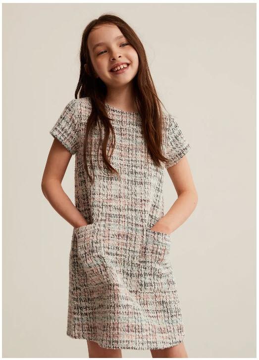 Детские платья Скидки до 70% из магазина MANGO (Германия)