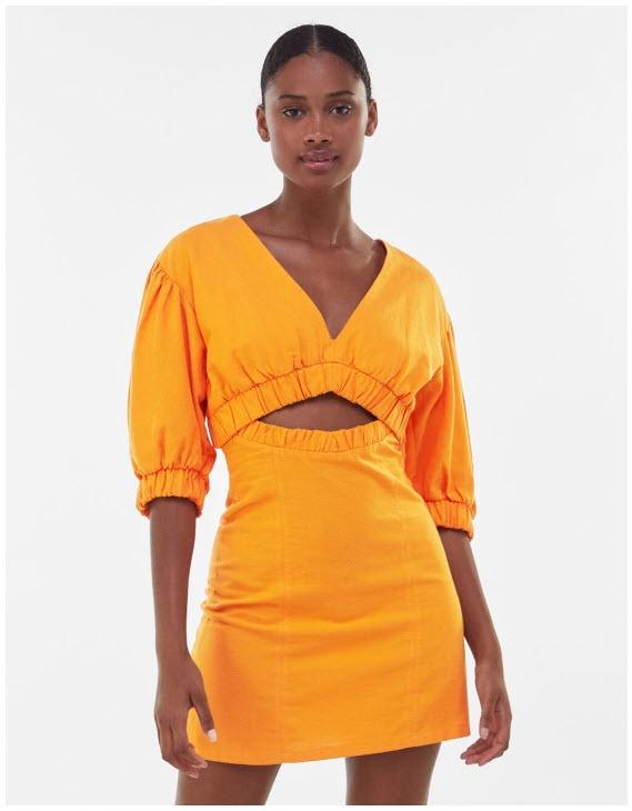 Летние платья Скидки до 75% из магазина Bershka (Германия)