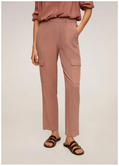 Стильные брюки Скидки до 68% из магазина MANGO Outlet (Германия)
