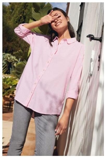 Стильные рубашки Скидки до 71% из магазина Next (Германия)