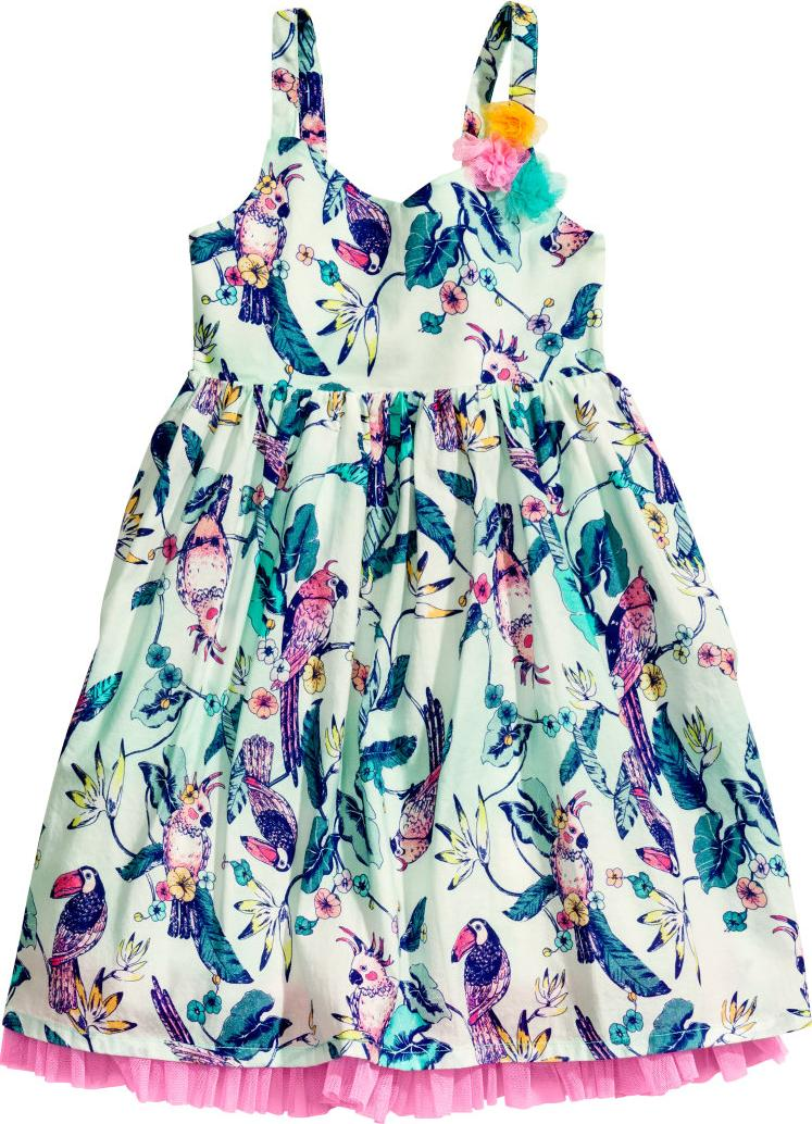 Отзыв на Платье с Тюль балдахин из Интернет-Магазина H&M