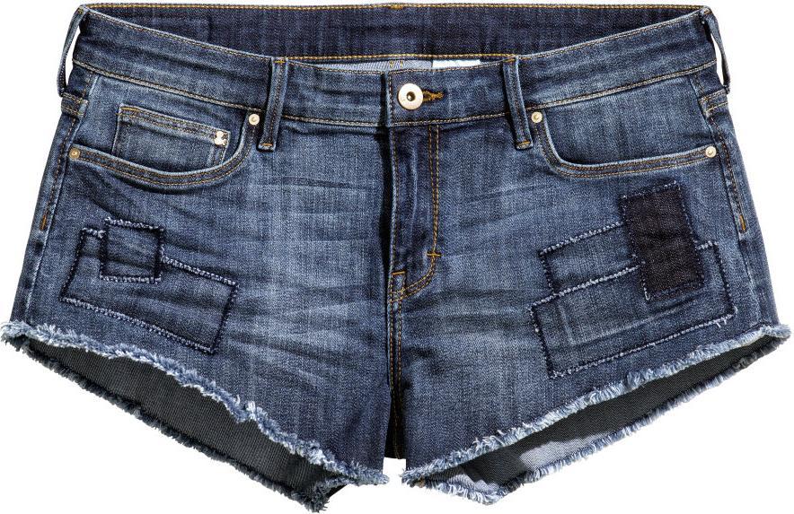 Отзыв на Короткие джинсовые шорты из Интернет-Магазина H&M