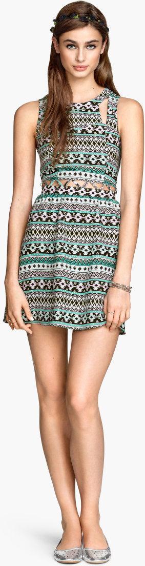 Отзыв на Платье с Cut-out из Интернет-Магазина H&M
