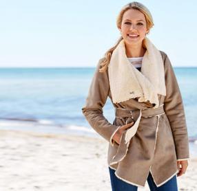 Отзыв на Женская-Мех-Куртка из Интернет-Магазина NKD