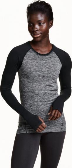 Отзыв на Seamless Sportshirt из Интернет-Магазина H&M