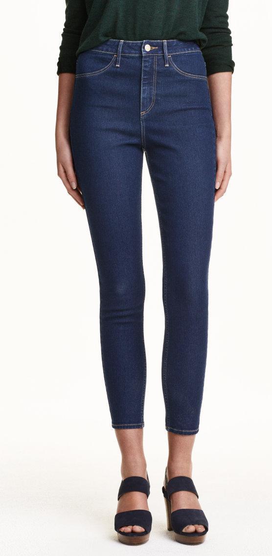 Отзыв на Узкие джинсы с высокими лодыжками из Интернет-Магазина H&M