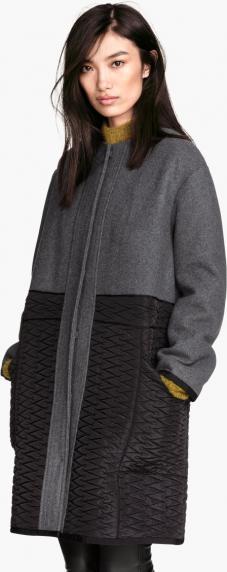 Отзыв на Пальто с полушерстяной из Интернет-Магазина H&M