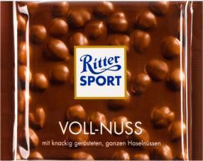 Отзыв на Ritter Sport Полная Орех из Интернет-Магазина LIDL