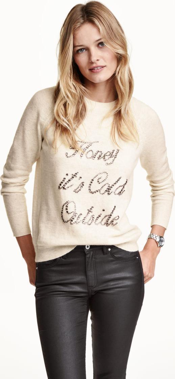Пуловер для новорожденного