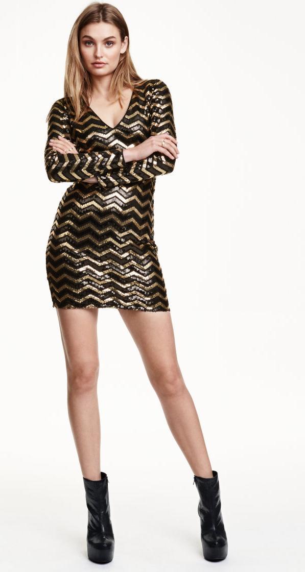Отзыв на Платье в блестках из Интернет-Магазина H&M