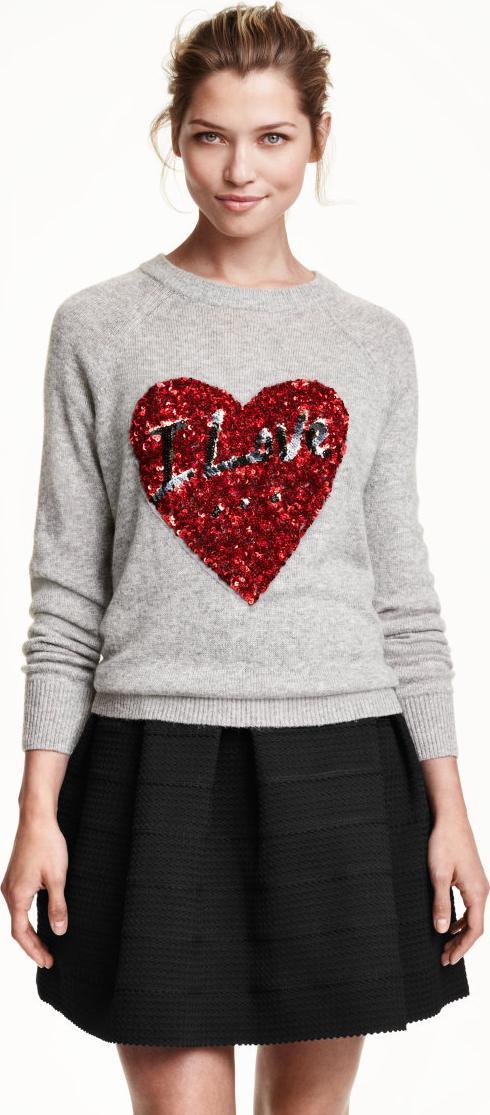 Отзыв на Пуловер с блестками из Интернет-Магазина H&M
