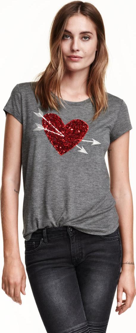 Отзыв на Рубашка с блестками из Интернет-Магазина H&M