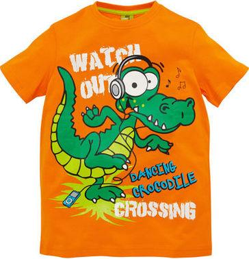 "Отзыв на Футболка - ""Dancing Крокодил"" из Интернет-Магазина Kik.de"
