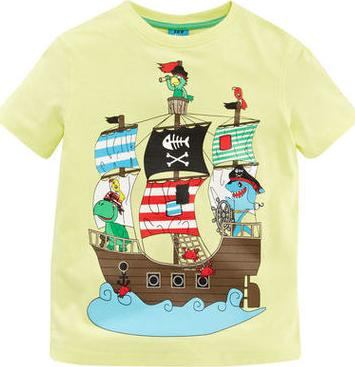 Отзыв на Футболка - Пиратский корабль из Интернет-Магазина Kik.de