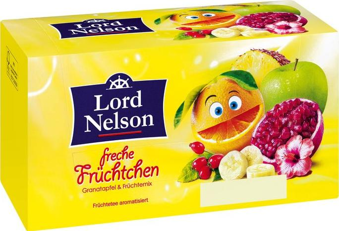 Отзыв на Lord Nelson Фруктовый чай Озорной фруктовый из Интернет-Магазина LIDL