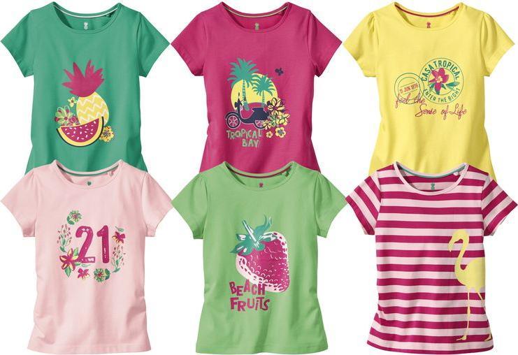 Отзыв на LUPILU® 2 для девочки малыша Футболки из Интернет-Магазина LIDL