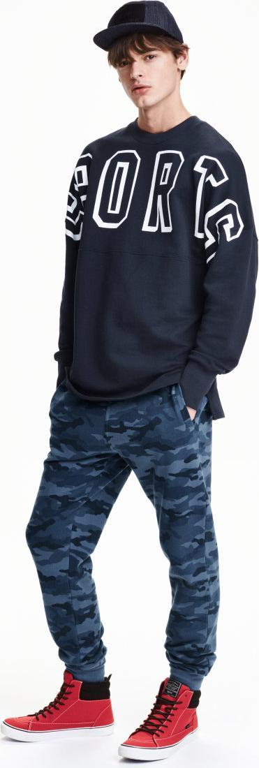 Отзыв на Цветные Спортивные штаны из Интернет-Магазина H&M