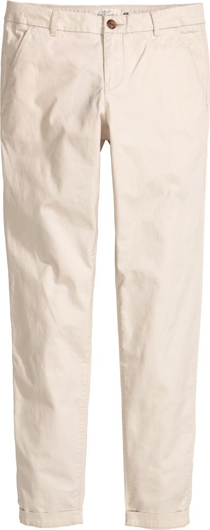 Отзыв на Ровные брюки Tapered Fit из Интернет-Магазина H&M