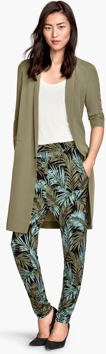 Отзыв на Цветные брюки трикотажные из Интернет-Магазина H&M