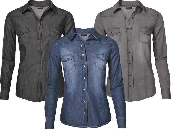 Отзыв на ESMARA® для женщин Джинсовая рубашка из Интернет-Магазина LIDL