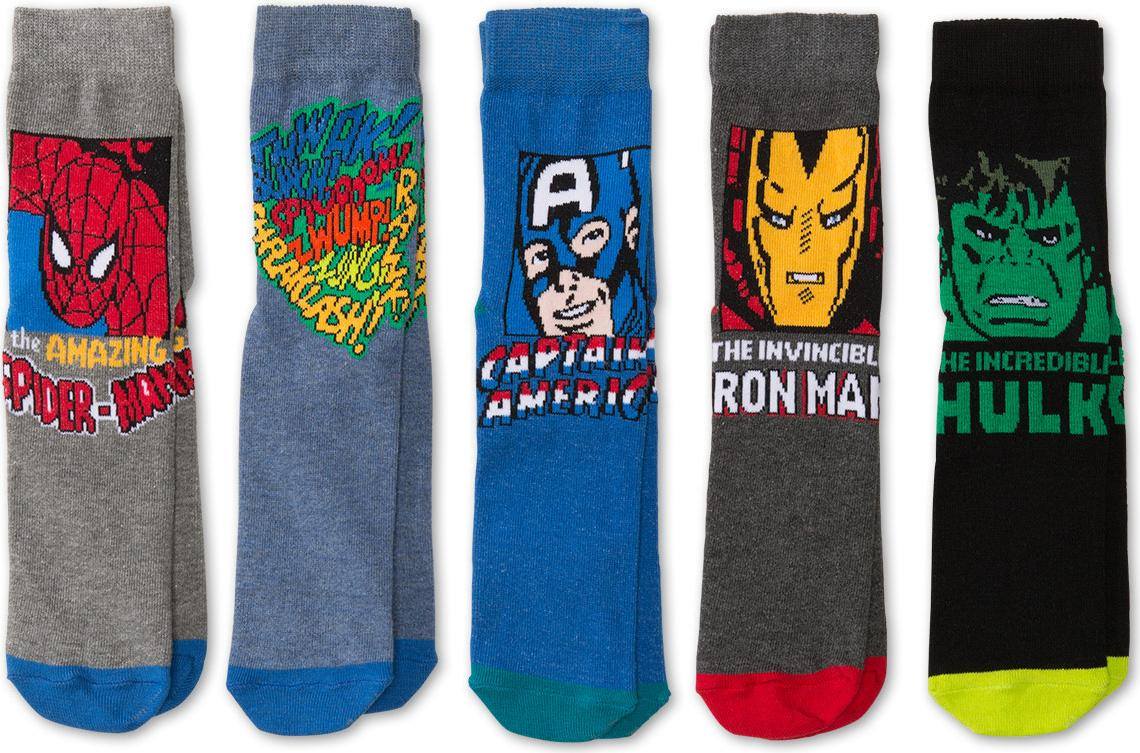 Отзыв на 5 пар Мстители Носки из Интернет-Магазина C&A