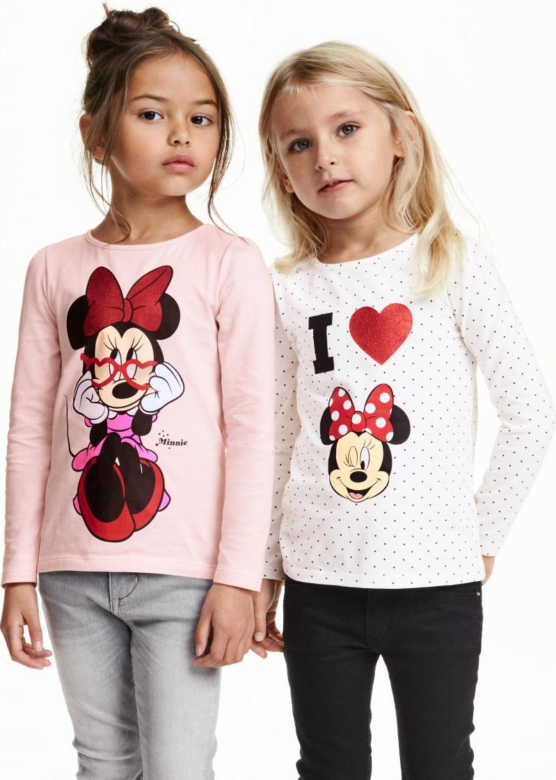 Отзыв на 2 пары футболок с принтом из Интернет-Магазина H&M