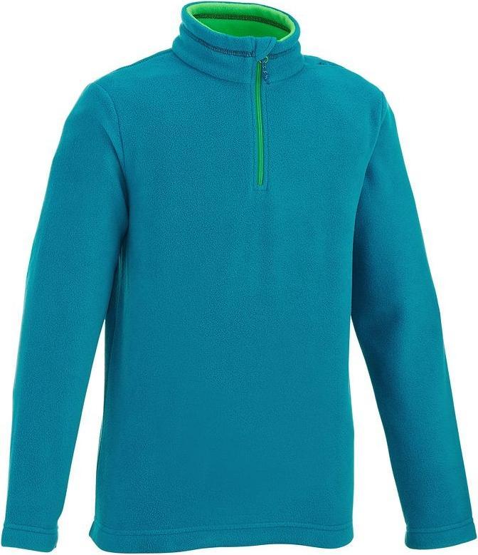 Отзыв на Флисовый пуловер FORCLAZ 50 для детей голубой QUECHUA из Интернет-Магазина Decathlon
