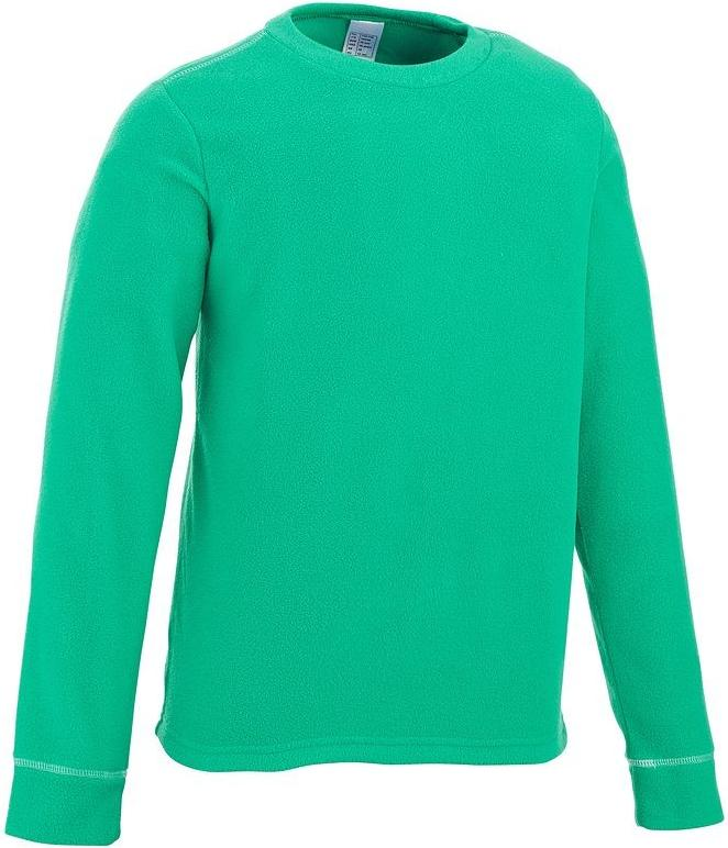 Отзыв на Флисовый пуловер FORCLAZ 20 для детей зеленый QUECHUA из Интернет-Магазина Decathlon