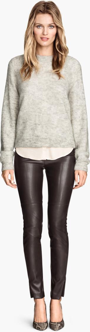 Отзыв на Брюки в кожаном виде из Интернет-Магазина H&M