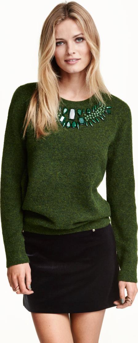 Отзыв на Пуловер с Орнаменты из Интернет-Магазина H&M