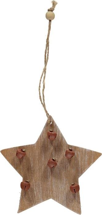 Отзыв на Мега Value Xmas Wooden Star with Bells из Интернет-Магазина Sports Direct
