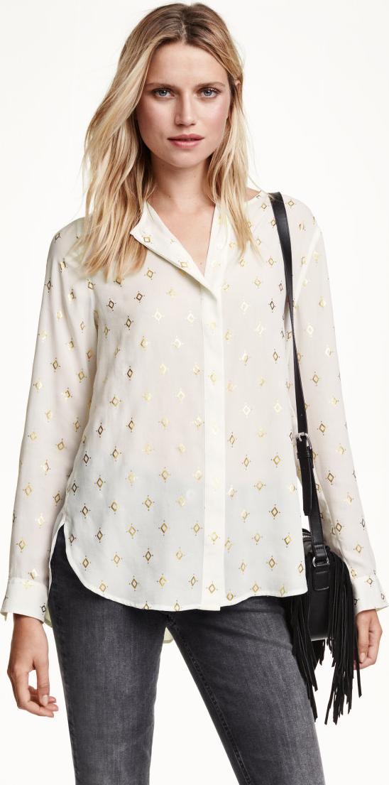 Отзыв на Шифоновая блузка из Интернет-Магазина H&M
