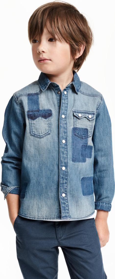 Отзыв на Джинсовая рубашка из Интернет-Магазина H&M