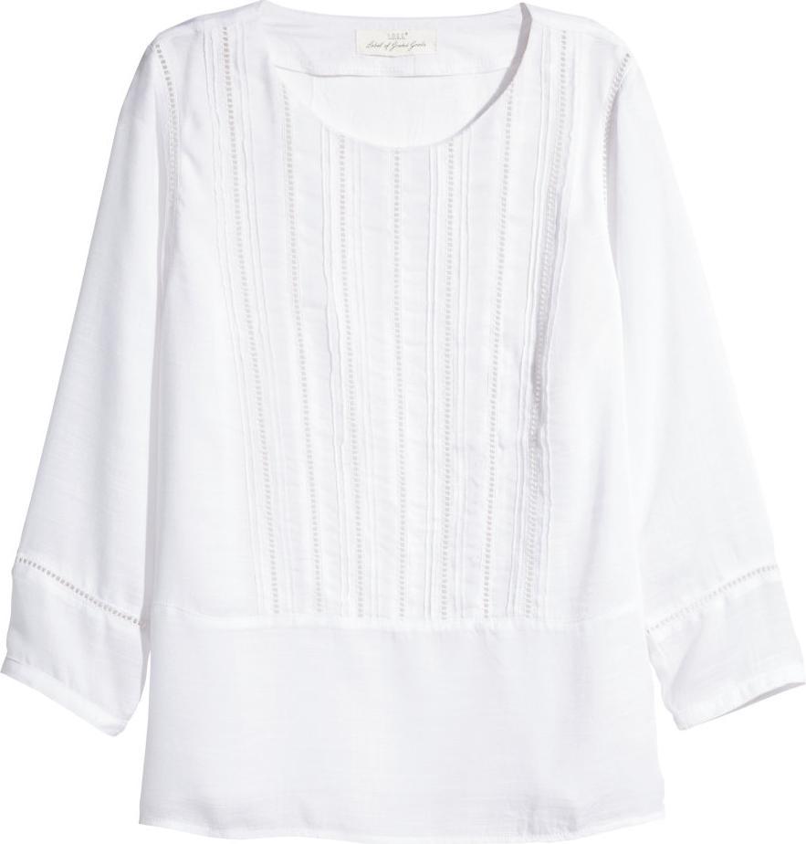 Отзыв на Блузка с вышитыми отверстиями из Интернет-Магазина H&M