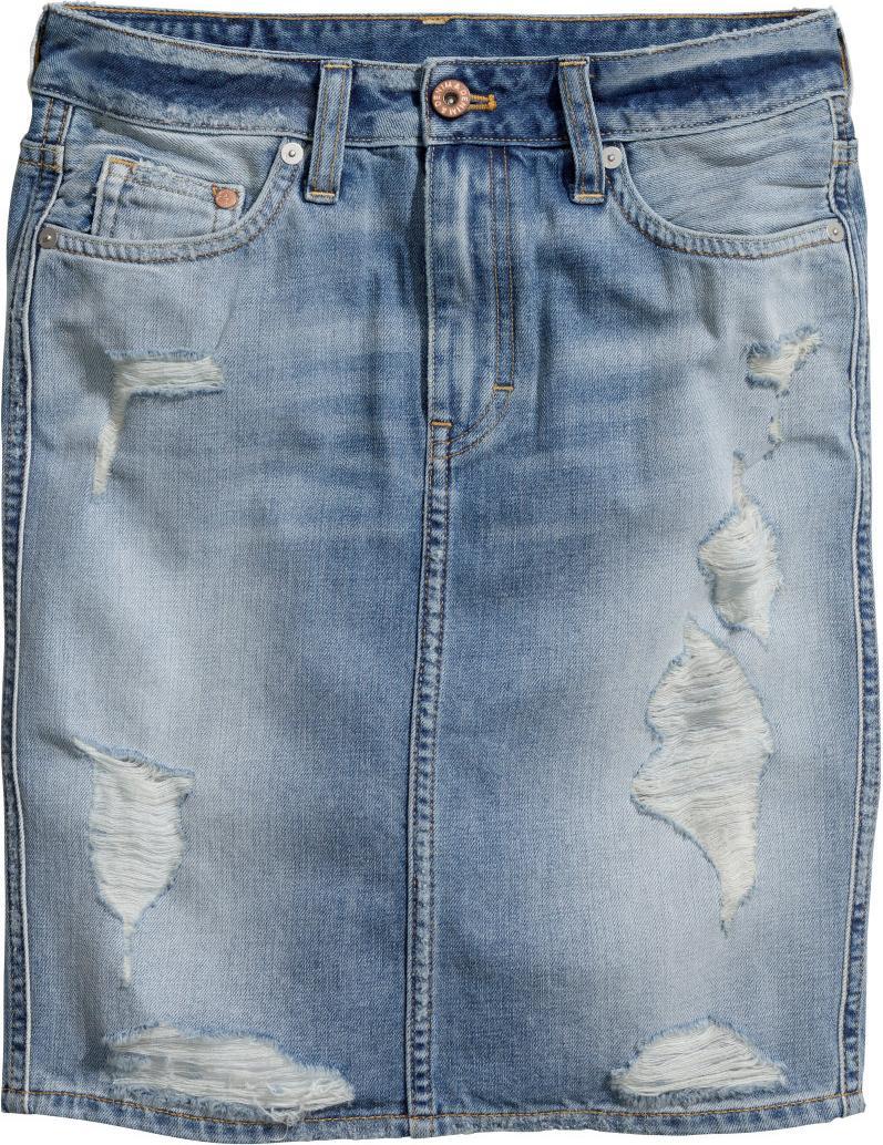 Отзыв на Джинсовая юбка из Интернет-Магазина H&M