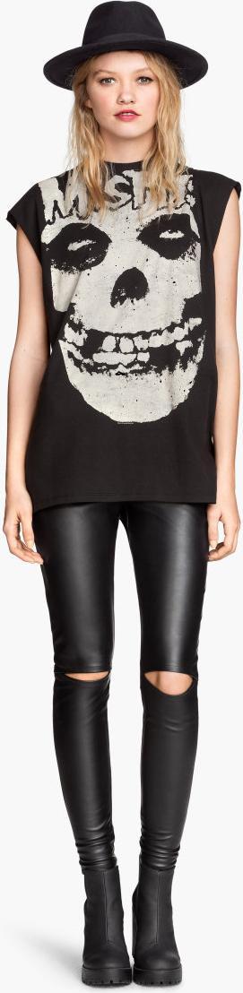 Отзыв на Леггинсы высокая талия из Интернет-Магазина H&M