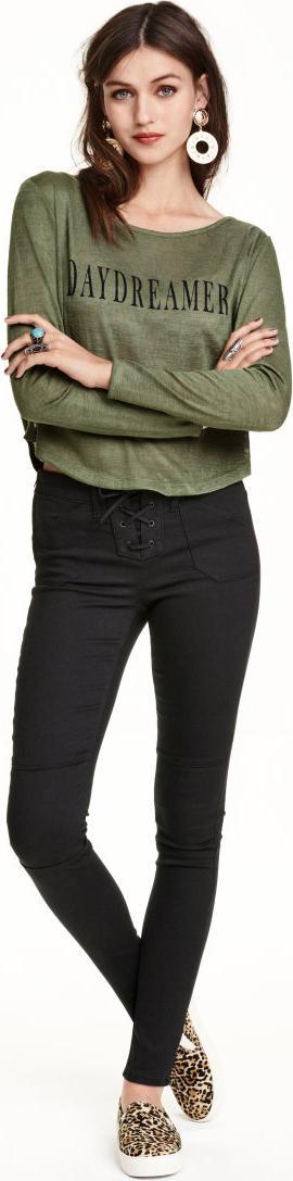 Отзыв на Супер стрейчевые брюки на завязке из Интернет-Магазина H&M