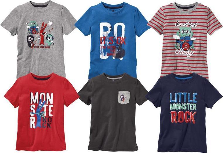 Отзыв на LUPILU® 2 для мальчика малыша Футболки из Интернет-Магазина LIDL