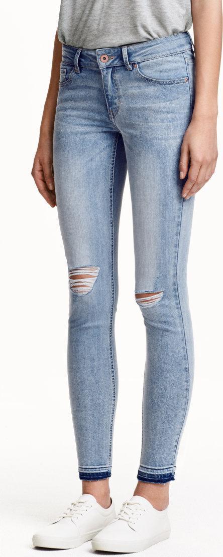 Отзыв на Супер Узкие заниженные Лодыжки Джинсы из Интернет-Магазина H&M